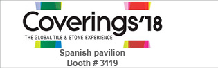 GRESPANIA PRESENTE EN COVERINGS 2018