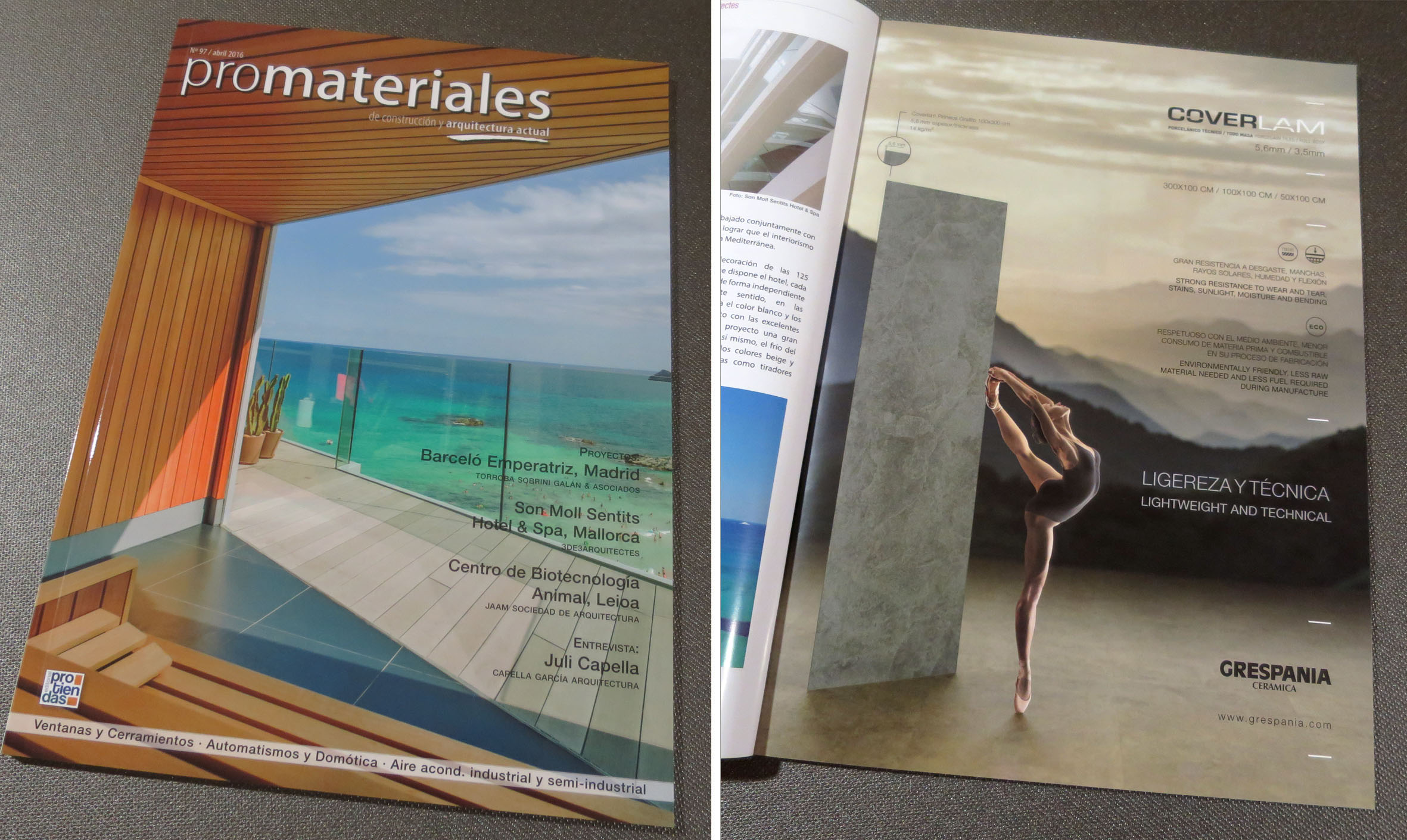 PROMATERIALES Nº 97 Abril 2016